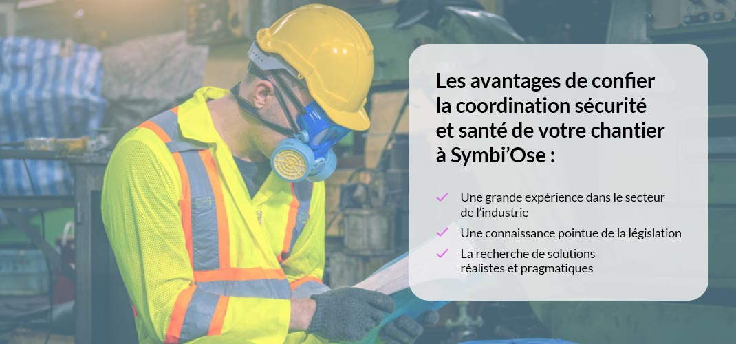Coordination sécurité/santé sur vos chantiers